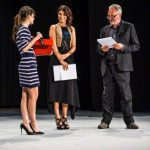 Awards ceremony at BAFF Busto Arsizio Film Festival on April 24, 2015 in Busto Arsizio, Italy