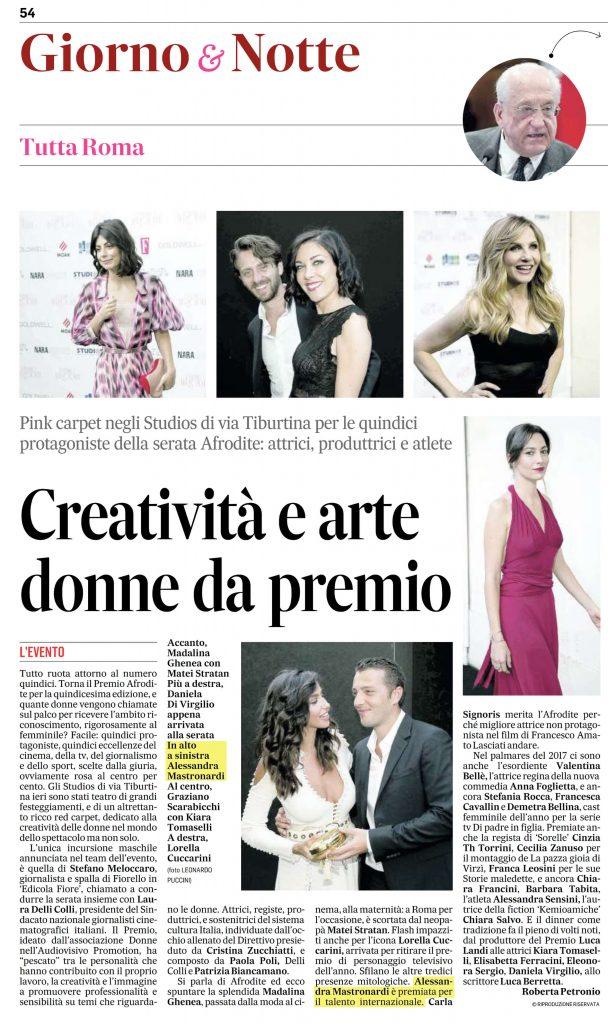 Alessandra-Mastronardi-Premio-Afrodite-2017-Messaggero-22062017