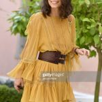 alessandra-mastronardi-is-seen-wearing-alberta-ferretti-dress-bag-picture-id841545800