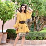 alessandra-mastronardi-is-seen-wearing-alberta-ferretti-dress-bag-picture-id841545802