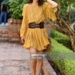 alessandra-mastronardi-is-seen-wearing-alberta-ferretti-dress-bag-picture-id841545812