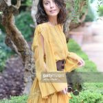 alessandra-mastronardi-is-seen-wearing-alberta-ferretti-dress-bag-picture-id841545828