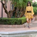 alessandra-mastronardi-is-seen-wearing-alberta-ferretti-dress-bag-picture-id841545830