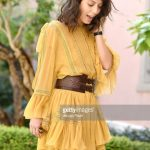 alessandra-mastronardi-is-seen-wearing-alberta-ferretti-dress-bag-picture-id841545850