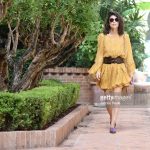 alessandra-mastronardi-is-seen-wearing-alberta-ferretti-dress-bag-picture-id841545856