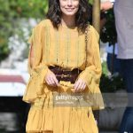 alessandra-mastronardi-is-seen-wearing-alberta-ferretti-dress-bag-picture-id841549984