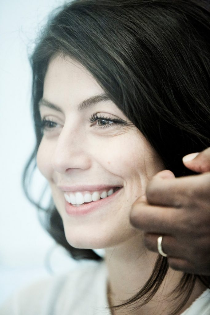 GETTING READY WITH ALESSANDRA MASTRONARDI FOR INSTYLE MAGAZINE