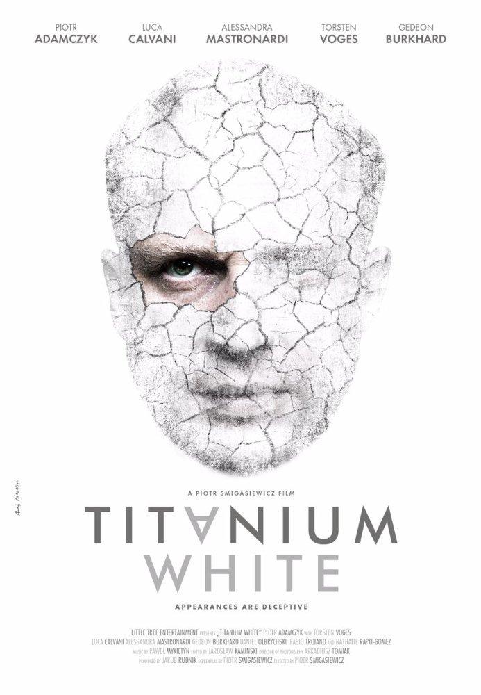 """La locandina definitiva di """"Titanium White"""""""