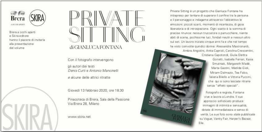 Private Sitting